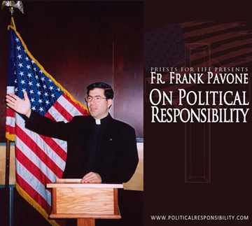 Picture of Fr. Frank on Political Responsibility