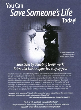 Picture of You Can Save Someone's Life Today