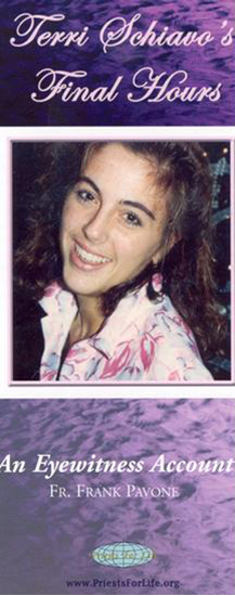 Picture of Terri Schiavo's Final Hours: An Eyewitness Account