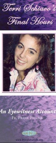 Picture of Terri Schiavo's Final Hours: An Eyewitness Account