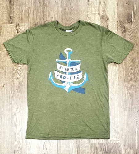"Picture of Pro-Life ""anchor"" t-shirt"