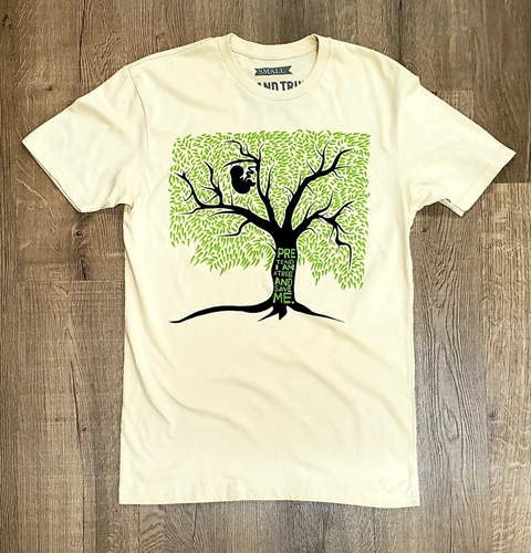 Picture of Pretend I Am A Tree And Save Me t-shirt