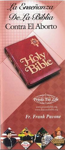 La Ensenanza De La Biblia Contra El Aborto