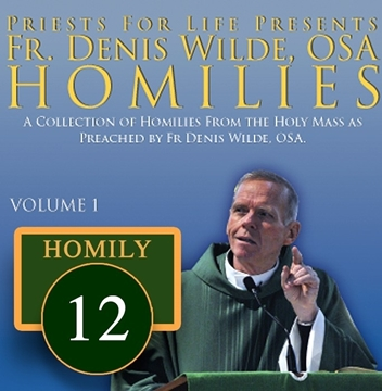 Homily by Fr. Denis Wilde, OSA -I was Blind but Now I See