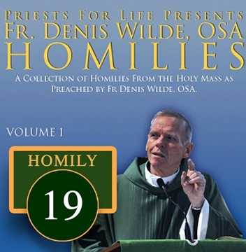 Homily by Fr. Denis Wilde, OSA  -