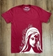 Our Mother Chose Life T-Shirt: Cranberry Crew Neck